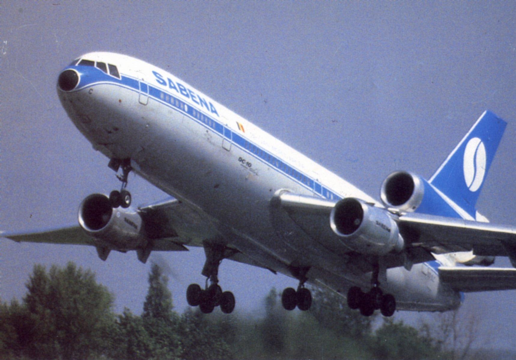 MC DONNELL - DOUGLAS DC - 10 - Sabena
